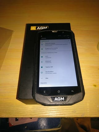 Agm a8 Pro Rugged Black/Orange