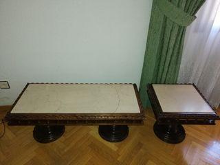 Mesas auxiliares antiguas