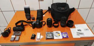 Cámara reflex Nikon D90