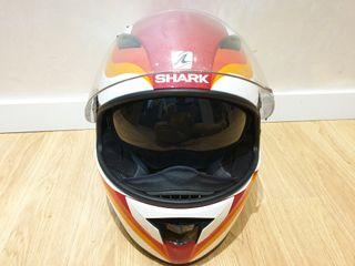 casco moto shark visio r talla L