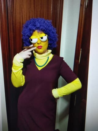 Disfraz Patty Bouvier (Simpson)