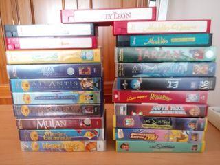 COLECCION 20 PELICULAS DE DISNEY VHS