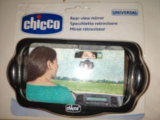 Espejo retrovisor vigilabebé Chicco. Nuevo.