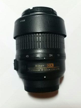 Objetivo Nikon AF-S DX Nikkor 18-55mm VR