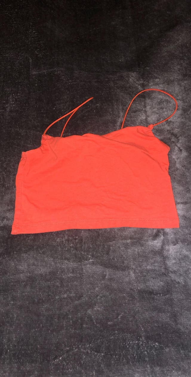 Red/Orange crop top