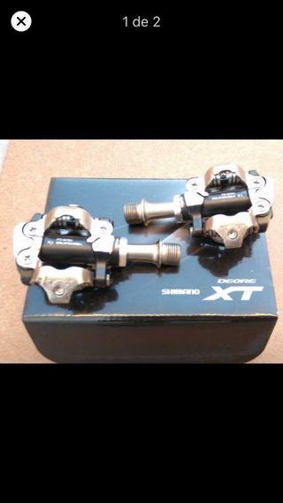 Vendo pedales Shimano XT
