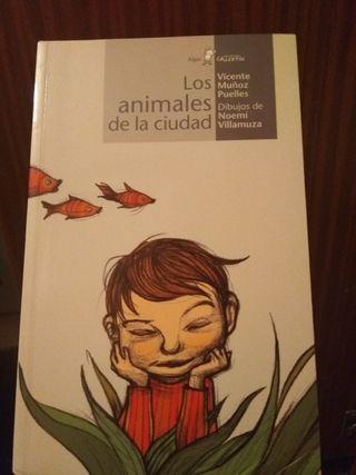 """libro """"Los animales de la ciudad"""""""