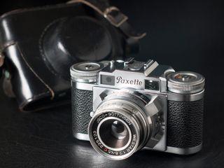 BRAUN PAXETTE IIM, cámara telemétrica 35mm