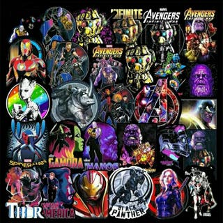 Stickers Marvel.