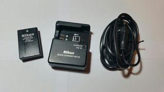 Cargador MH-23 y batería EN-EL9 para Nikon
