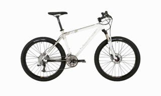 Bicicleta MTB RALLY XC Rockrider 8.2 color blanco
