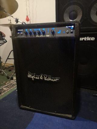 Amplificador de Bajo HUGHES & KETTNER BassBase 150