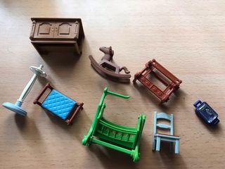 Playmobil lote de accesorios casa victoriana
