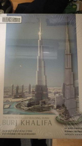 puzzle torre burj khalifa precintado