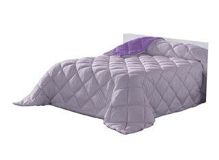 Edredón nórdico cama de 90 cm 400 gr fibra morado