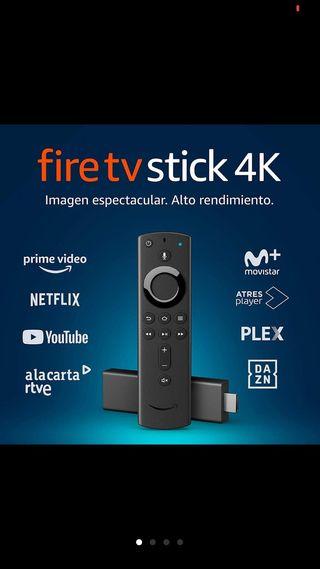 Fire TV Stick 4K con mando por voz Alexa