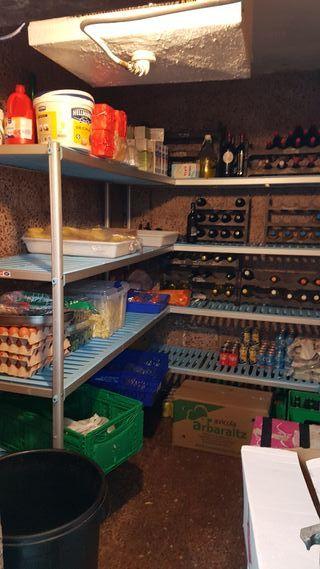 Estanterías especiales para sector alimentario