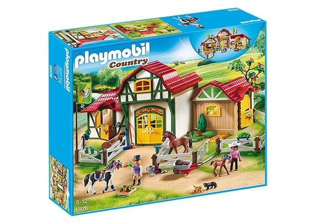 PLAYMOBIL 6533 GRANJA DE CABALLOS