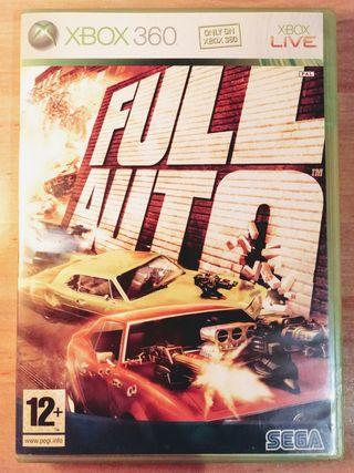 Juego: Full Auto (XBOX360)