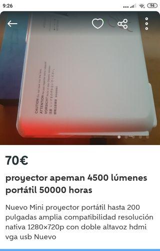 proyector apeman