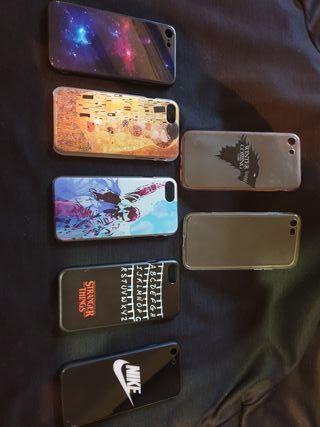 vendo fundas para iphone 7