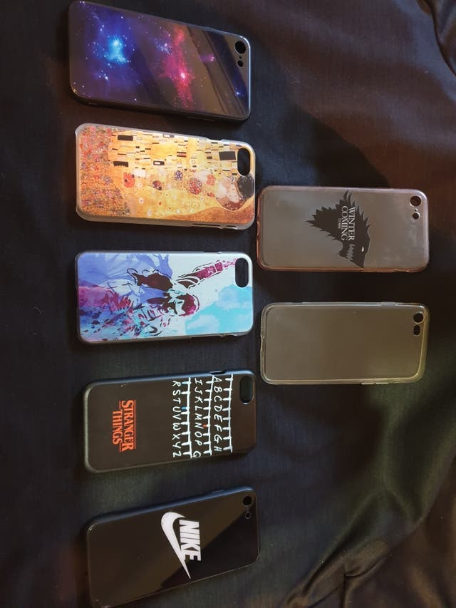 vendo todas las fundas para iphone 7