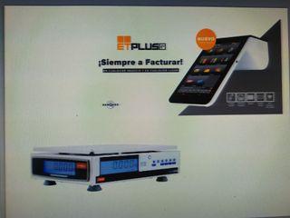 Tpv portatil y balanza