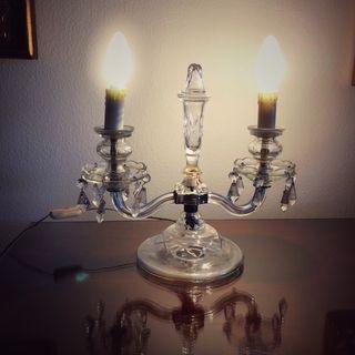 Lámpara de mesa candelabro