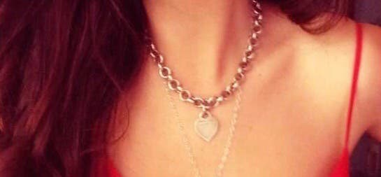 Collar marca Tiffany & Co .