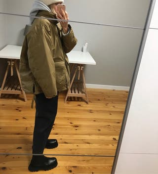 Botines piel Zara