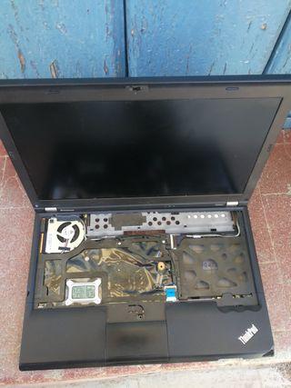 Lenovo x220i i3 falta ram, disco duro, teclado