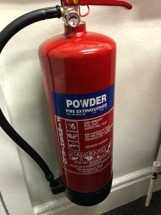 8 powder fire extinguishers for sale