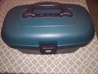maletín de viaje para maquillaje tipo samsonite