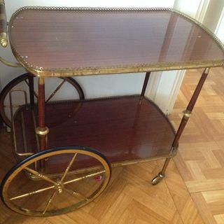 Chariot De Service Vintage