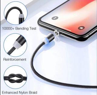 Cable de carga magnético.