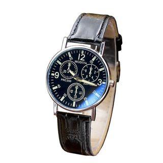 Relojes de hombre de vidrio y cuarzo marca de lujo