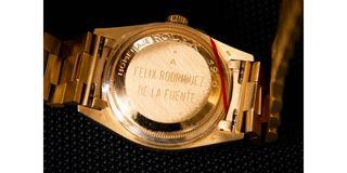 Reloj Rolex de oro modelo Oyster Perpetual Datejus