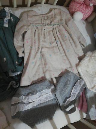 lote ropa bebé niña Invierno