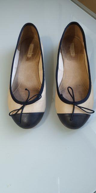 bailarinas Massimo Dutti estilo Chanel