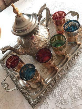 Tetera estilo marroquí