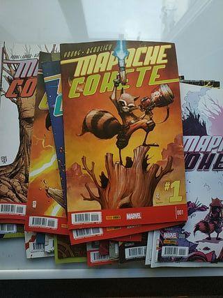 coleccion comics Mapache Cohete