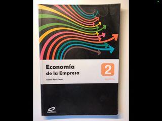 Libro Economía de la Empresa 2º de Bachillerato