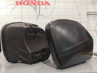 Juego de maletas HONDA NC 750 X y caballete