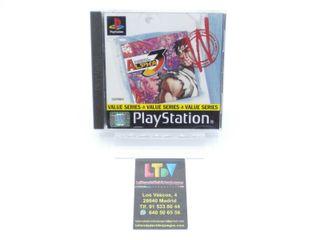 Street Fighter Alpha 3 PS1
