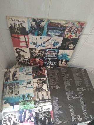 U2 Lp disco vinilo