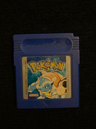Juego GAME BOY pokemon azul