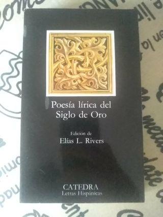 Libro Poesía lírica del Siglo de Oro