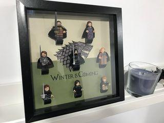 Cuadro exposición Juego de Tronos - Familia Stark