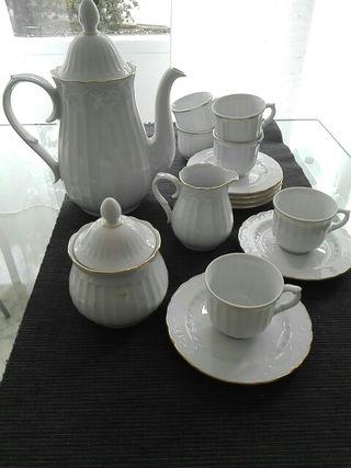 Joc de cafè porcellana Santa Clara