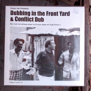 Dubbing In The Front Yard + Conflict Dub - DUB 2LP